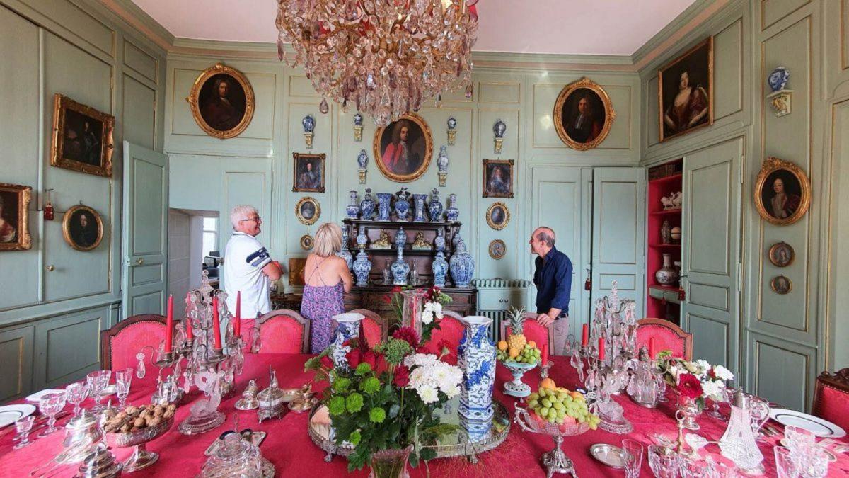 """Atelier """"Les arts de la table"""" avec Inaki au Château de Chantore"""
