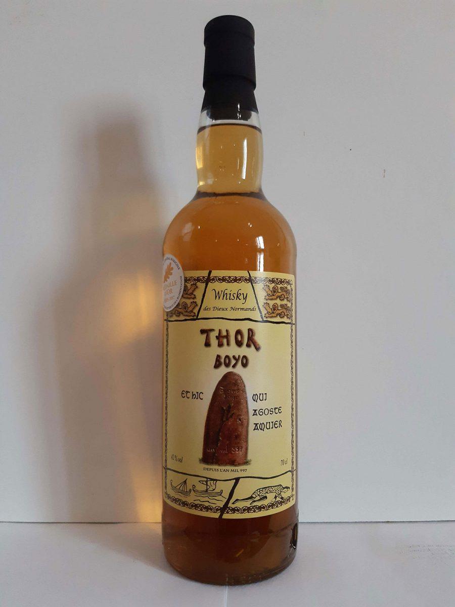 Whisky thor boyo médaillé