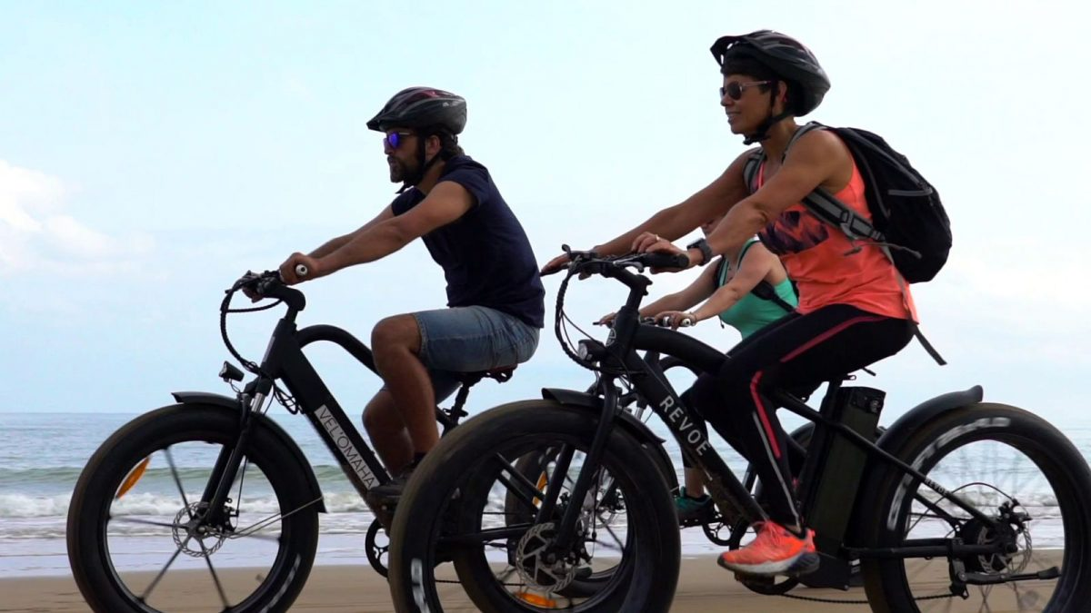 expérience Omaha Beach en fat bike