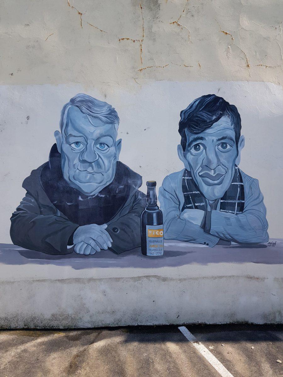 Street art à Villerville