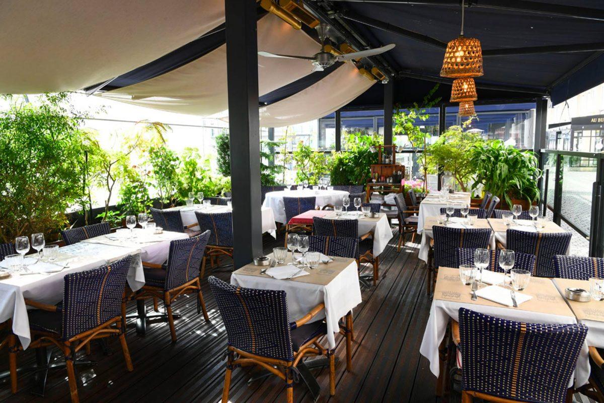 Restaurant Le Grignot, et sa terrasse