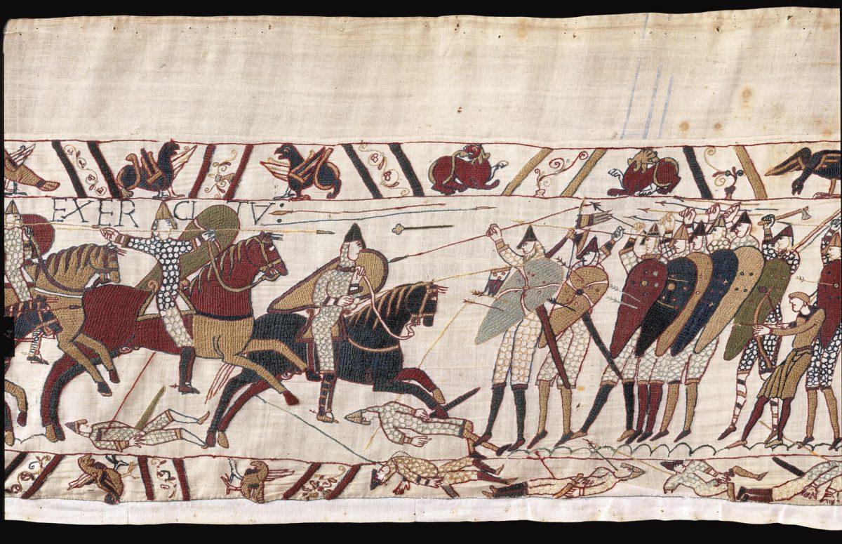 Scène de la Tapisserie de Bayeux