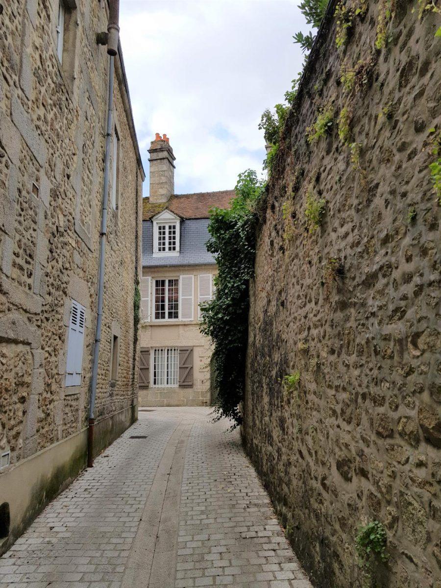 Dans les ruelles d'Alençon