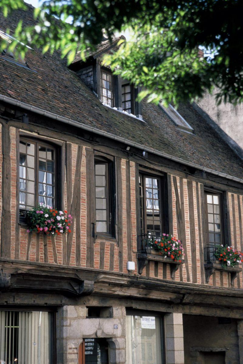 Maison à pans de bois à Alençon