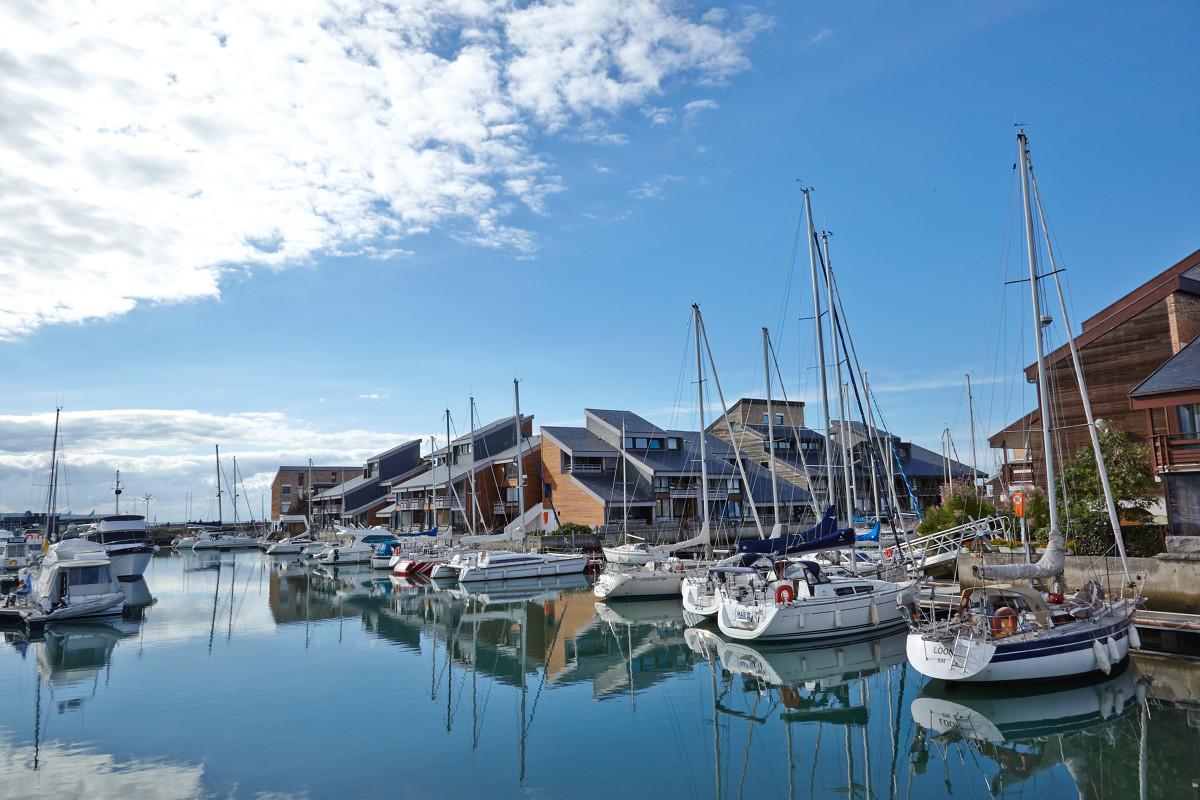 Port de plaisance à Deauville