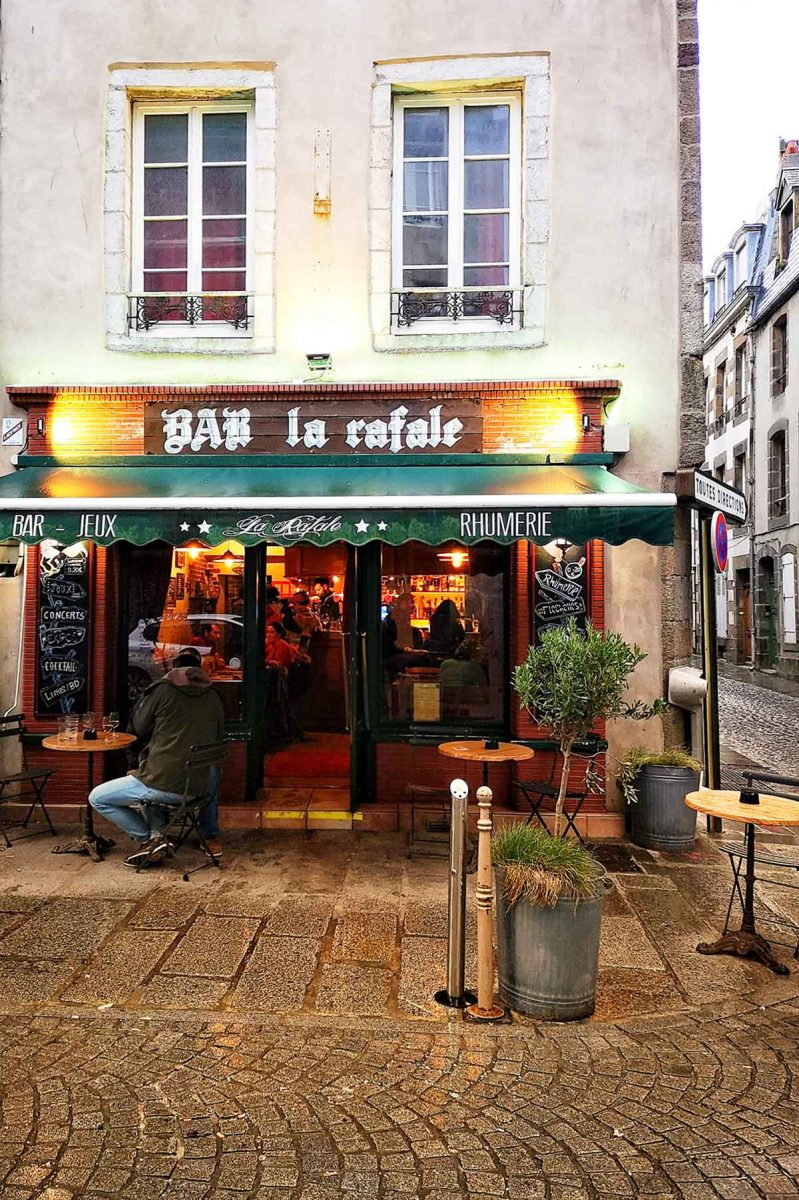 Bar La Rafale à Granville