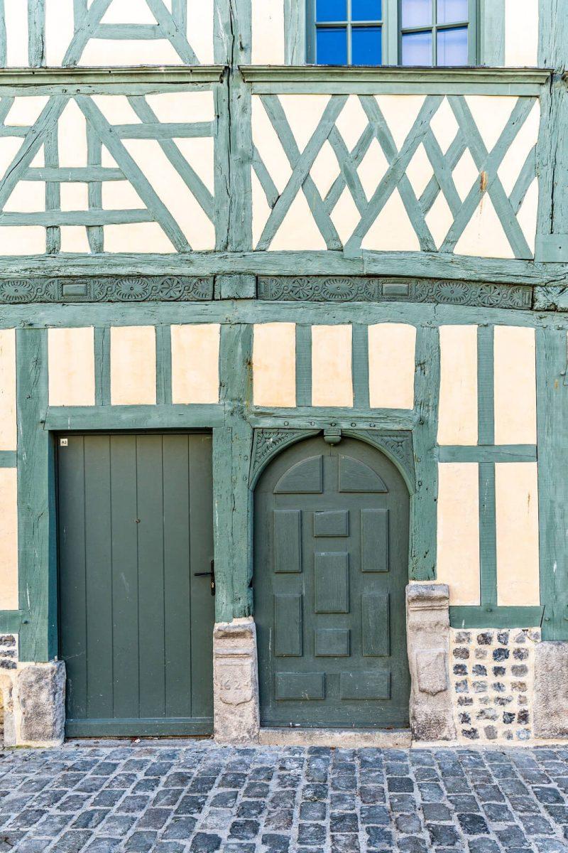 Maison à colombages à Dieppe