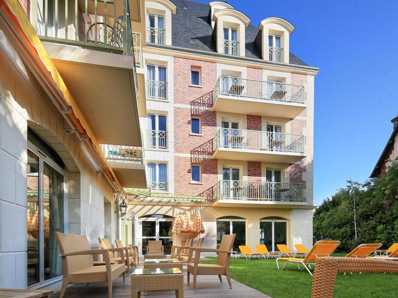 Hotel La Closerie Deauville, extérieurs