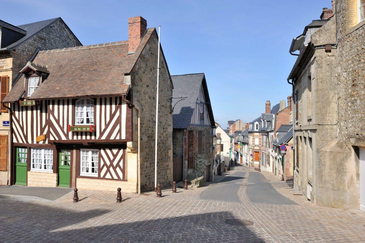 Rue Foch, Villerville