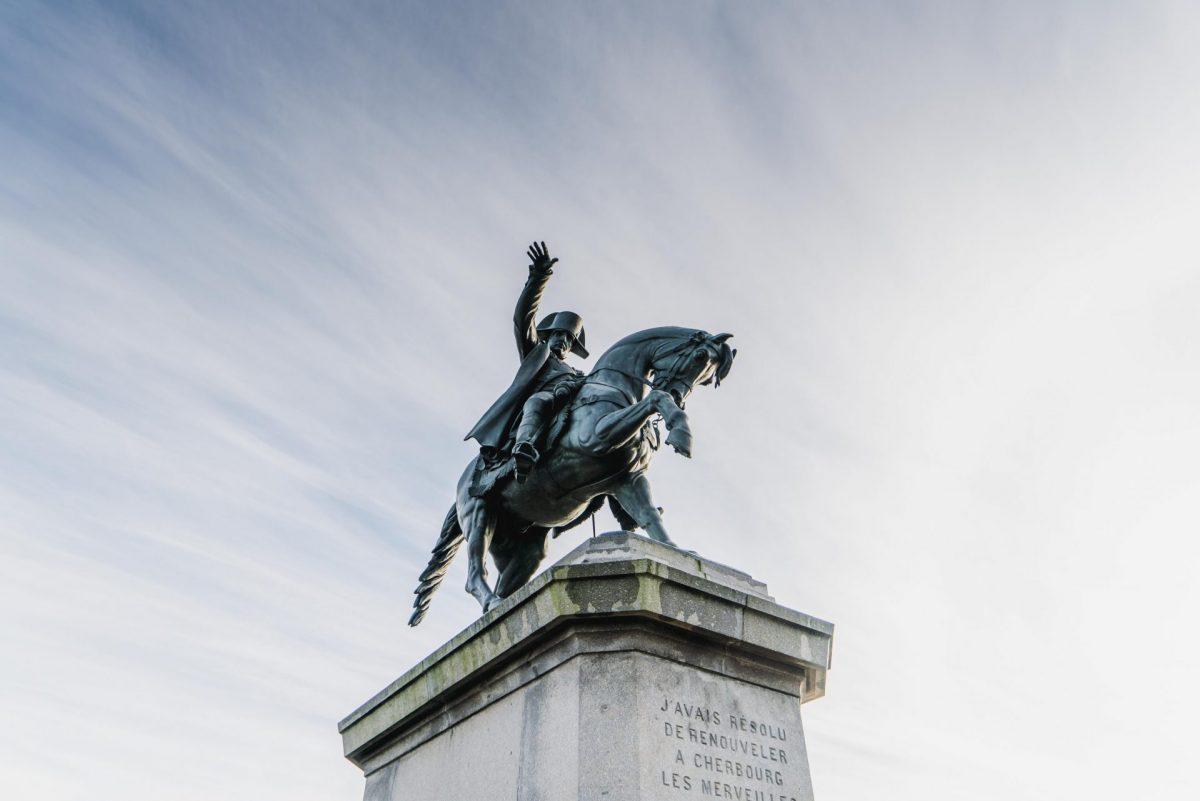 Statue de Napoléon à Cherbourg
