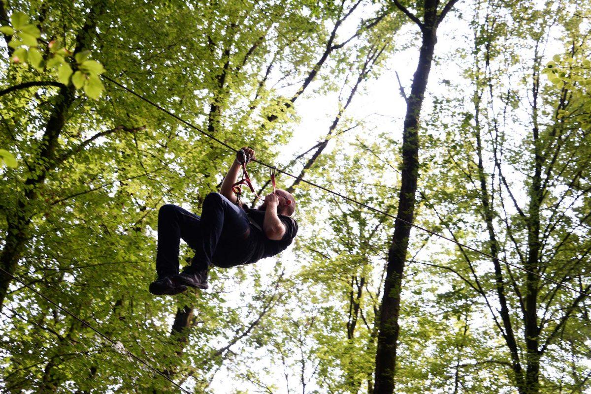 Tyrolienne Bois - Parcours Nature