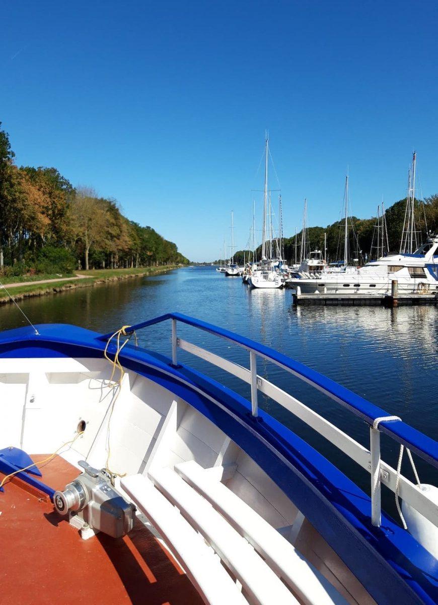 Sortie en bateau à Carentan