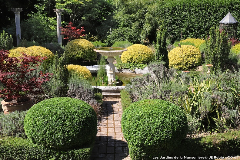Jardin de la Mansionière dans l'Orne
