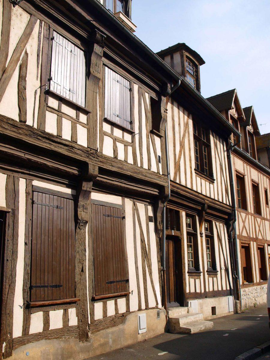 Maison à pans de bois à Vernon