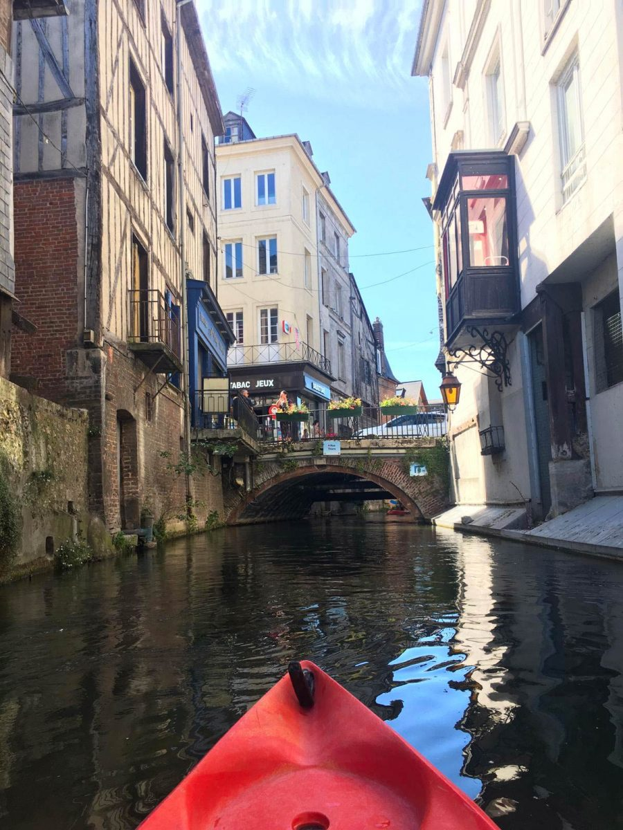 Canoë-kayak à Pont-Audemer