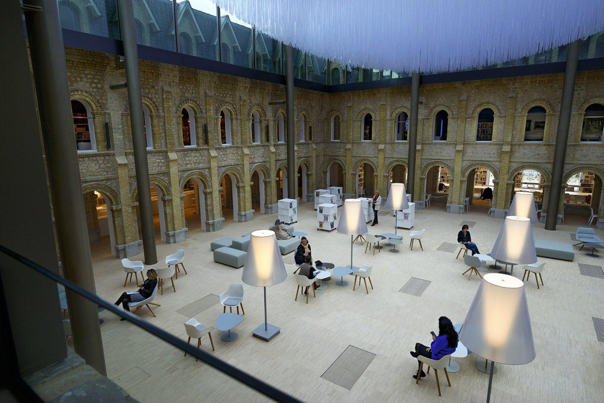 Le cloître des Franciscaines à Deauville