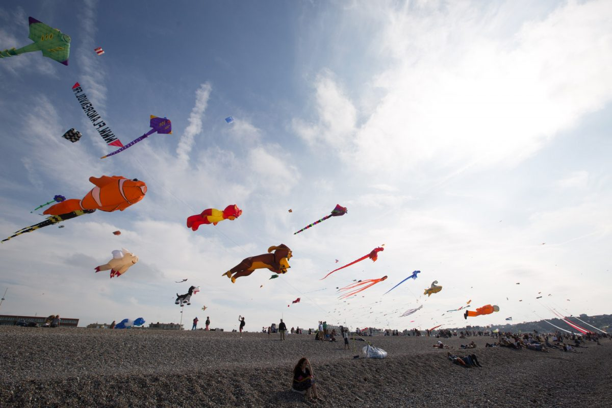 Festival international du cerf-volant à Dieppe