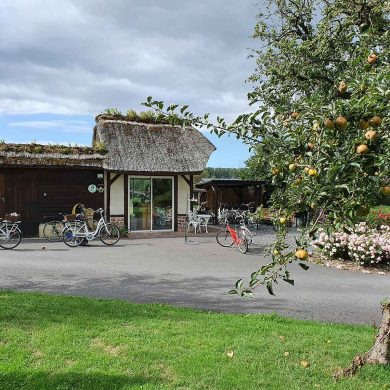 Le Marais Vernier à vélo (à assistance électrique)