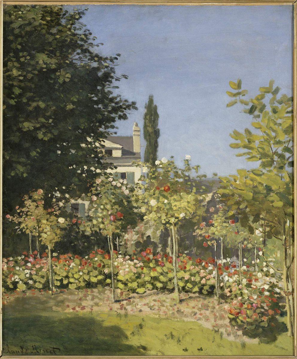Jardins en fleurs, de Monet