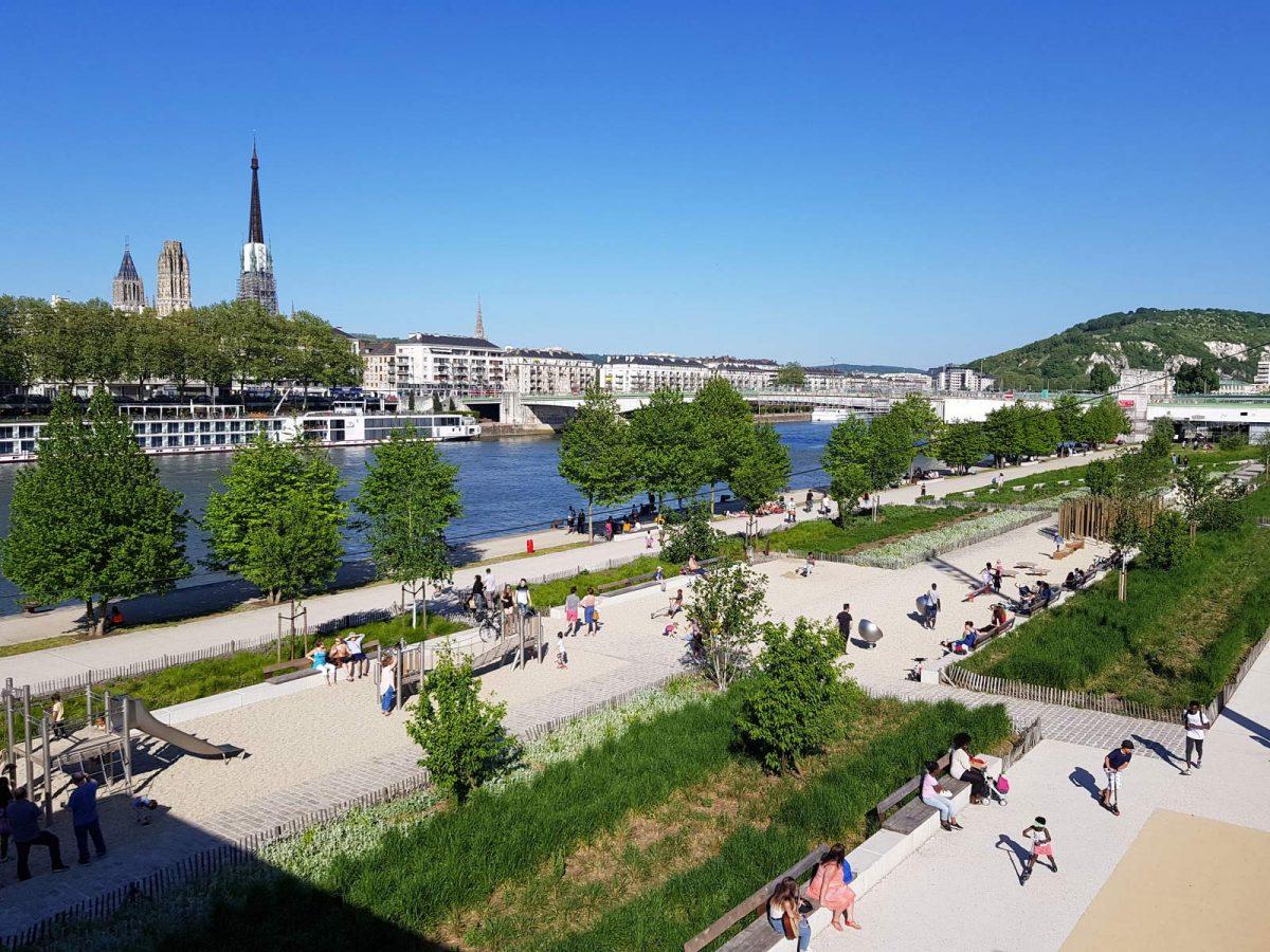 Quais de Seine à Rouen