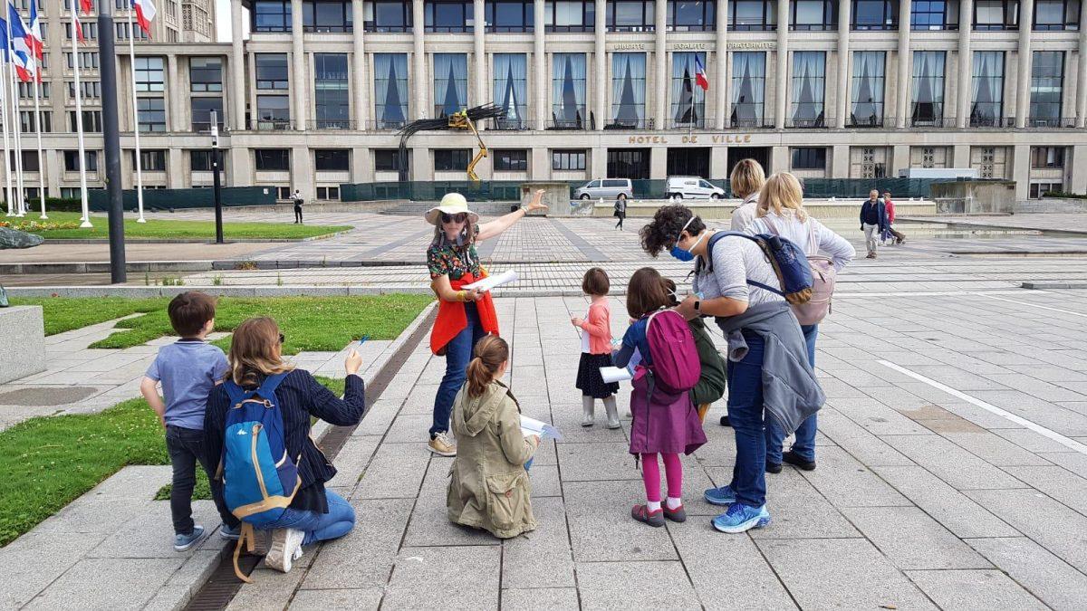 Visite guidée au Havre