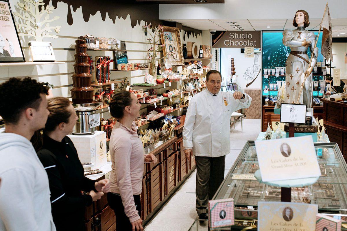 Chocolaterie Auzou à Rouen