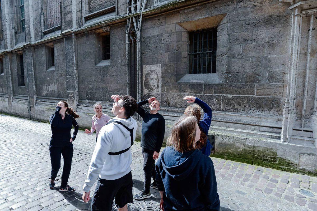 Jeanne d'Arc & street art à Rouen
