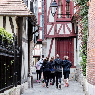 Run & Visit à Rouen, spécial Jeanne d'Arc