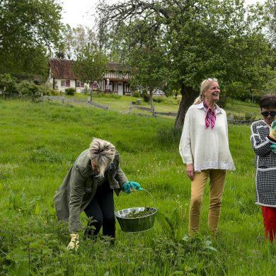 Cueillir et cuisiner les plantes sauvages avec Christine