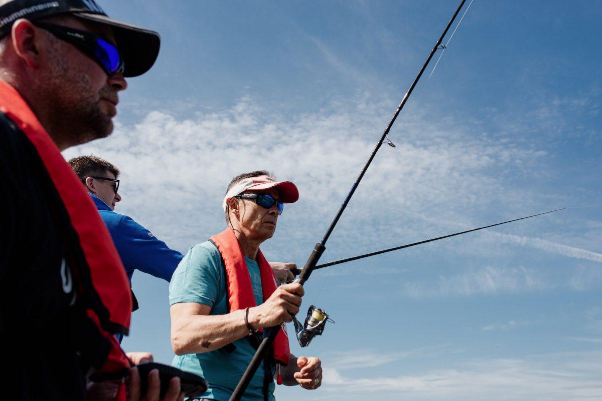 Sortie pêche sur la Seine