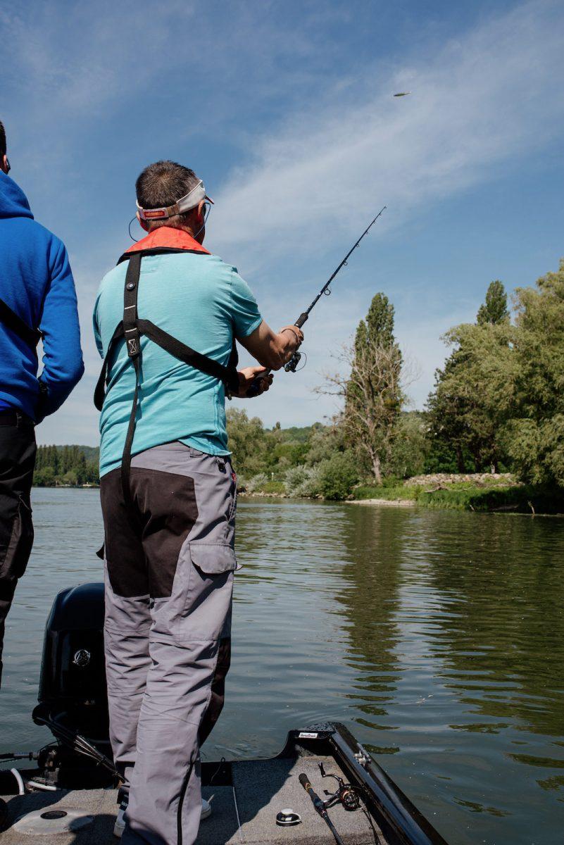 Pêche sur la Seine