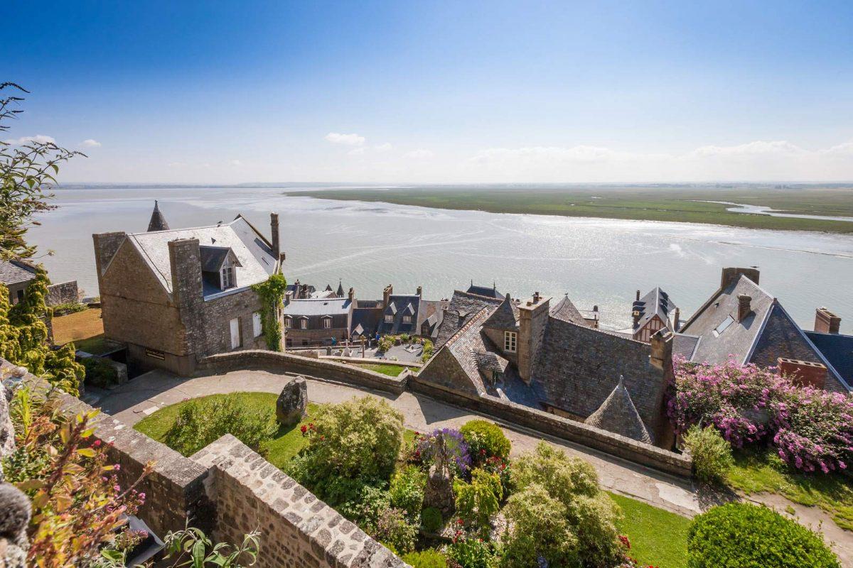 Maisons au Mont-St-Michel