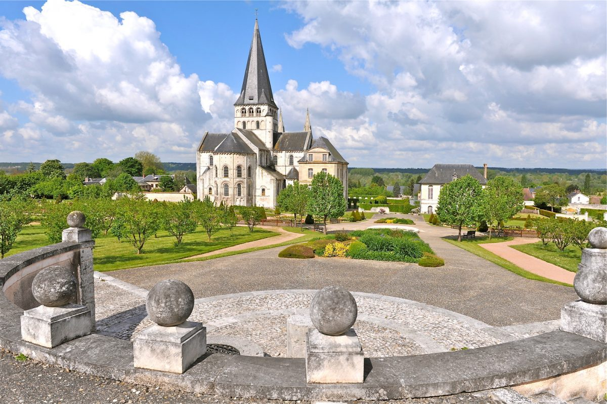 Extérieur de l'abbaye Saint-Georges