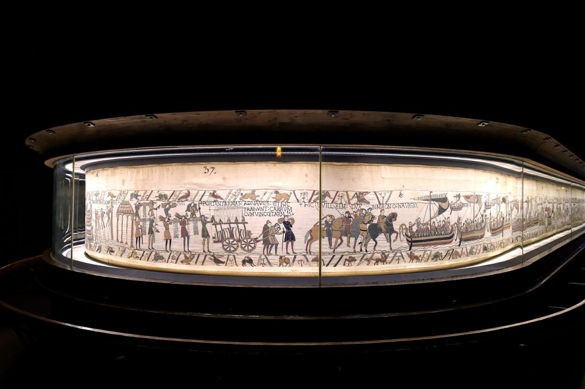 Tapisserie de musée de Bayeux