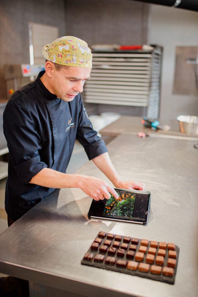 Olivier Viel Le Petit Chocolatier