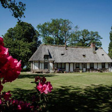 La chaumière, une maison traditionnelle de Normandie