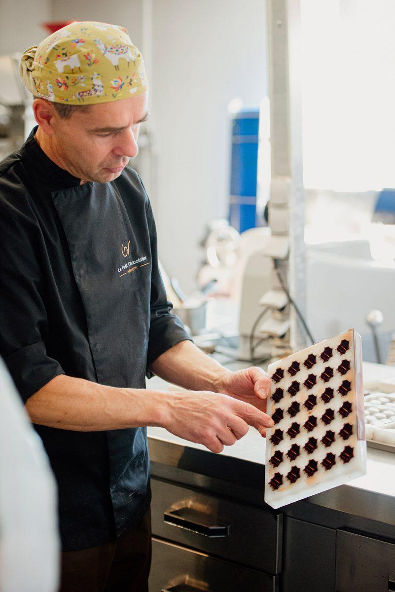 Atelier chocolat Le Petit Chocolatier