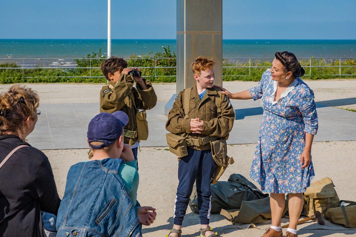 Expérience D-Day raconté aux enfants