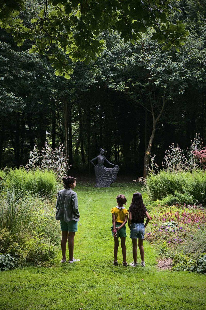 Jardin des Sculptures en famille