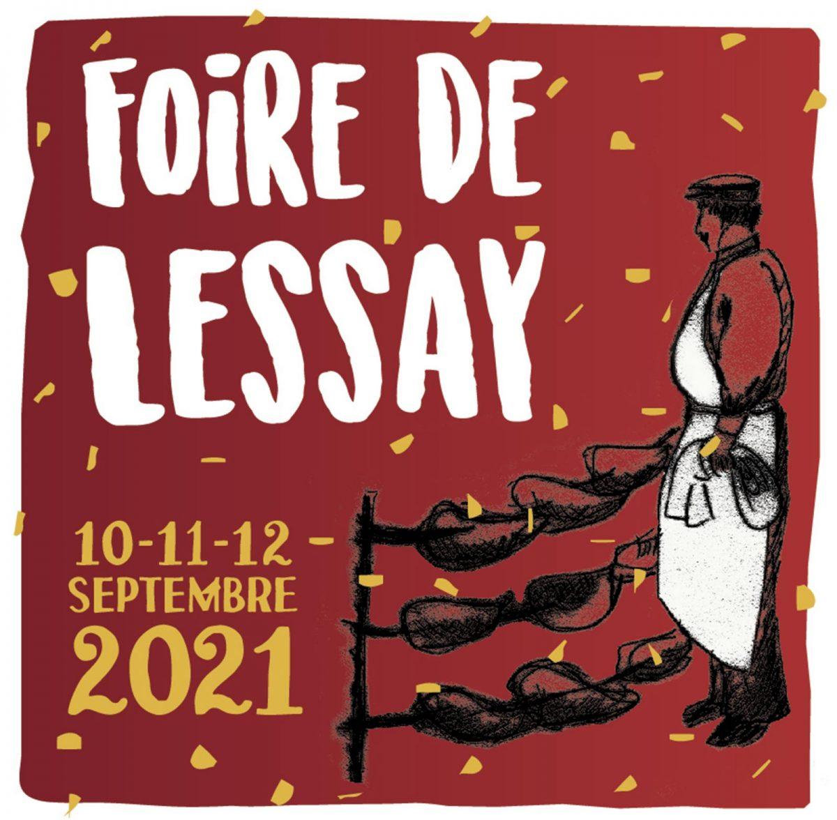 Affiche 2021 Foire de Lessay