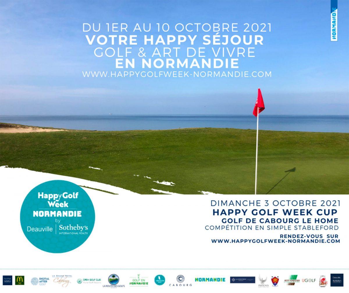 Affiche Happy Golf Week 2021