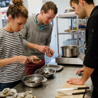 Sublimer l'huître avec un chef à Courseulles-sur-Mer