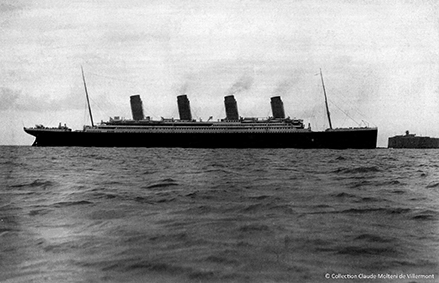 Face à vous, le Titanic