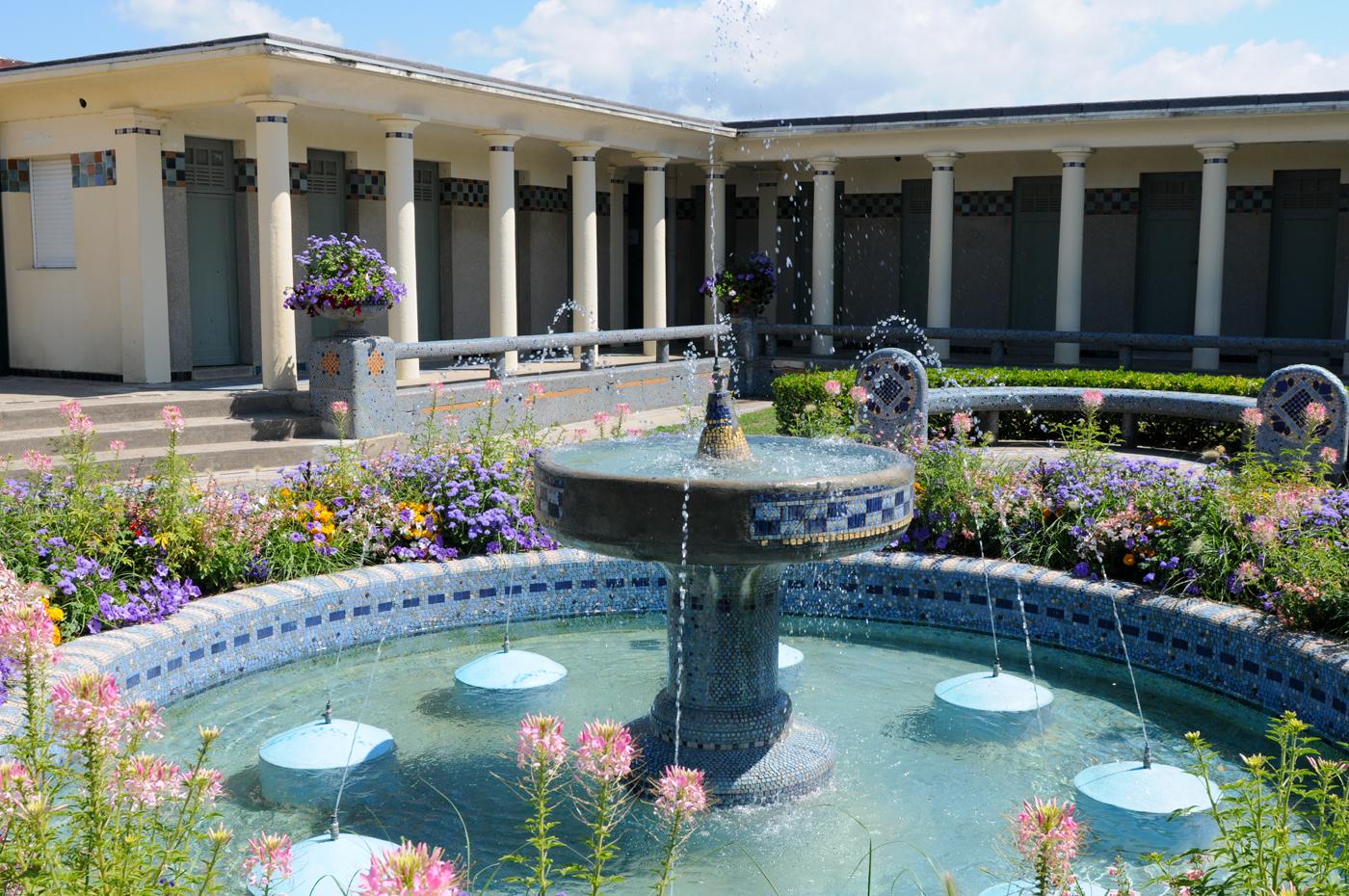 Des bains pompéiens à Deauville