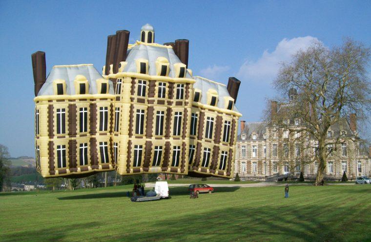 Ballon du château de Balleroy