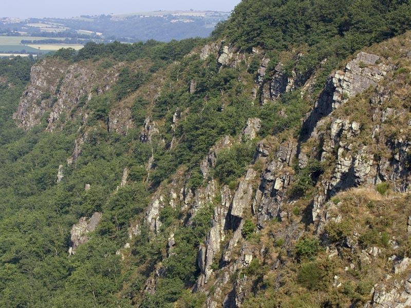 Les rochers des Parcs