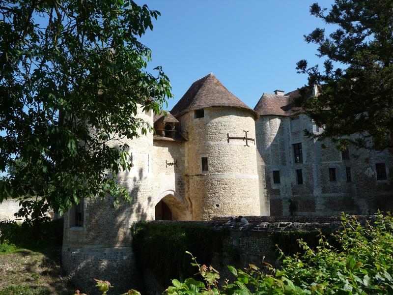 Domaine d'Harcourt ext © Eure Tourisme, C. Michaud