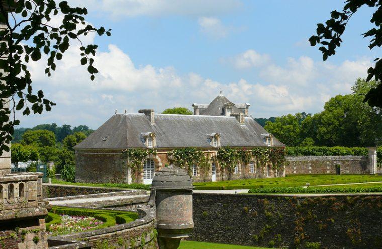 Parc du château de Balleroy