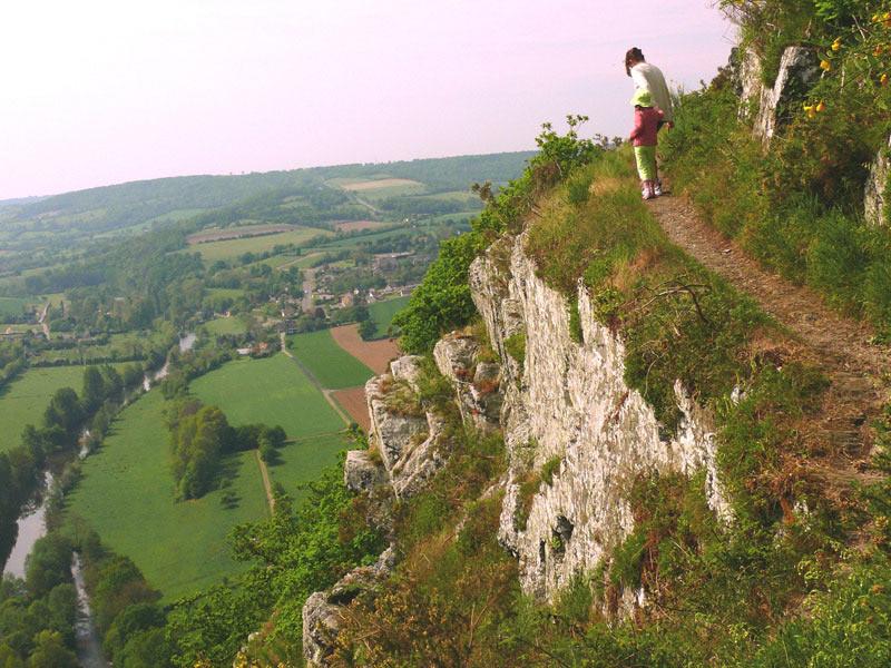 Paysage en Suisse-Normande