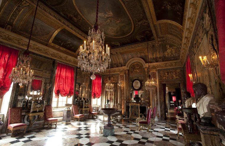 Salon d'Hercule, Château du Champ de Bataille © Eric Sander